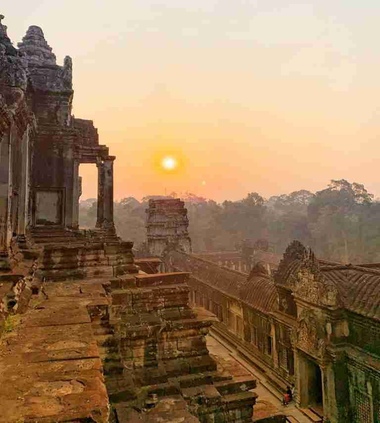 Keeping Cool in Cambodia: Sweating in Southeast Asia
